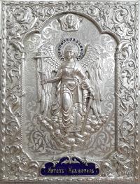 """Ікона """"Ангел Хранитель і Нерукотворний Спас"""" №2"""