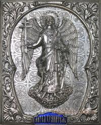 """Икона """"Ангел Хранитель"""" (серебрение, фигура 9/1)"""