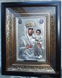 """Икона Богородицы """"Призри на смирение"""" (в позолоченном венце)"""