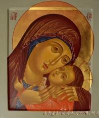 Икона Богородицы (писаная на заказ)
