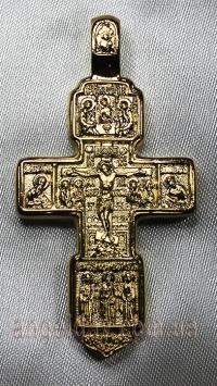 Хрест натільний (позолота)