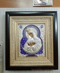 """Ікона Богородиці """"Остробрамська"""" (25х27, позолочена корона)"""