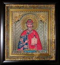 Икона Вашего Святого (На заказ, серебрение, позолота)