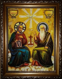 Иконы праздников (янтарные)