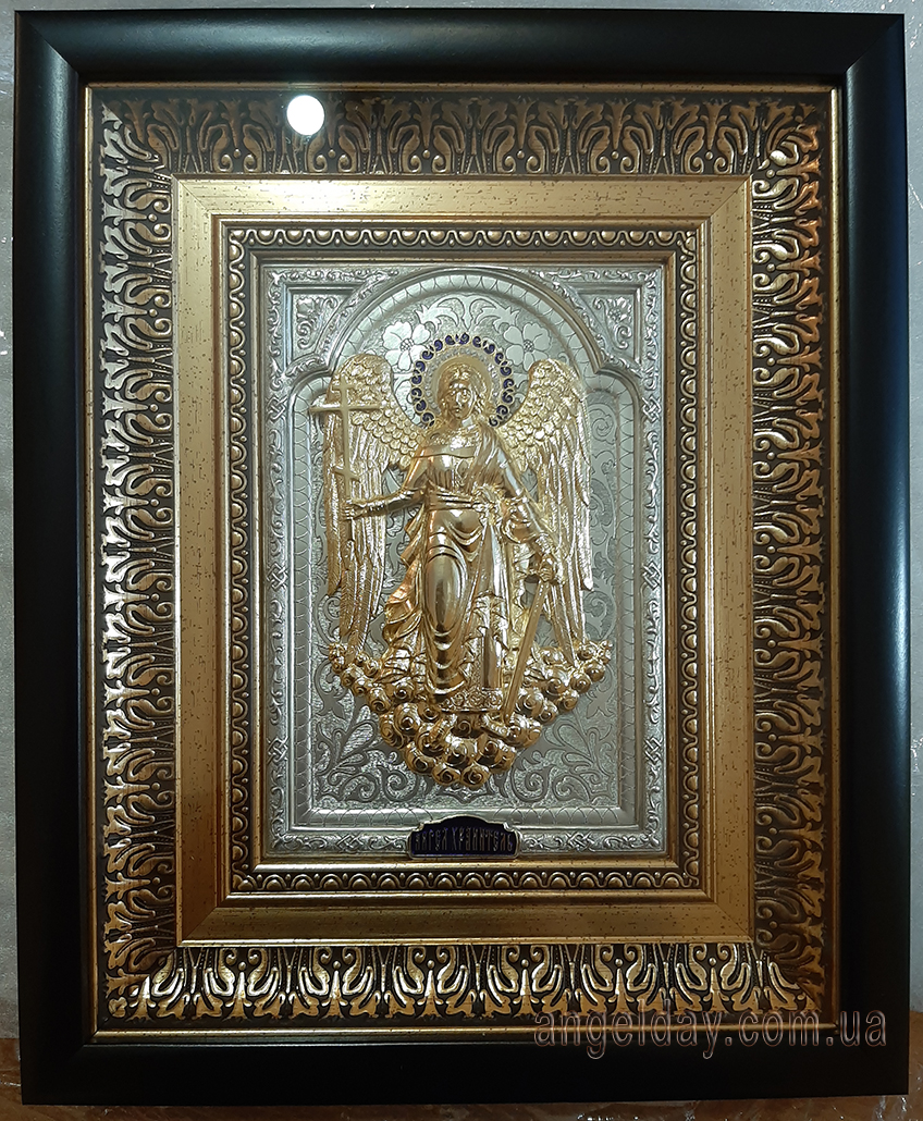 """Икона """"Ангел Хранитель"""" (фигура в позолоте №1)"""