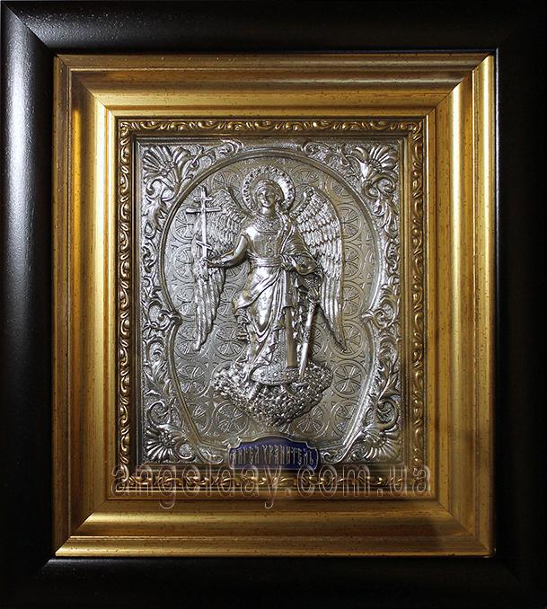 """Икона """"Ангел Хранитель"""" (серебрение,фигура 9/1)"""