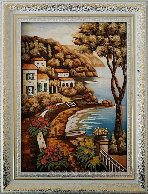 Картины из янтаря на заказ
