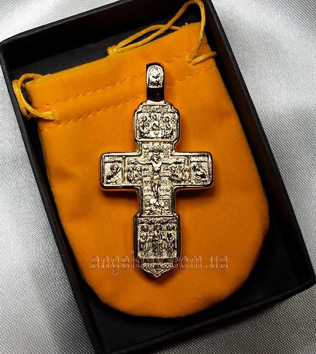 Крест нательный (позолота)