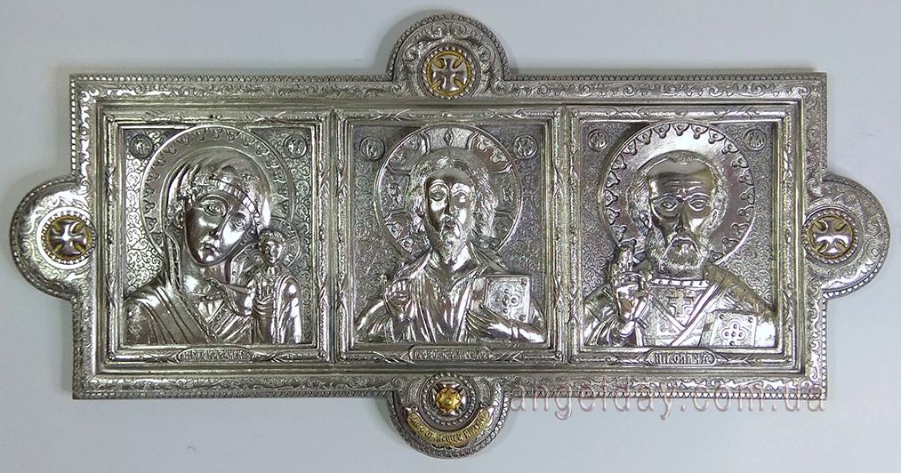 Автомобильный триптих (серебрение).