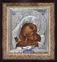 """Икона Иисуса Христа """"Спаситель"""" (серебрение)"""