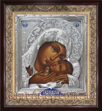 """Икона Богородицы """"Касперовская"""", код: 020205"""