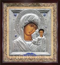"""Икона Богородицы """"Казанская"""", код: 020203."""