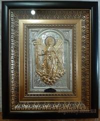 """Ікона """"Ангел Хранитель"""" (26х32, фігура в позолоті №1)"""