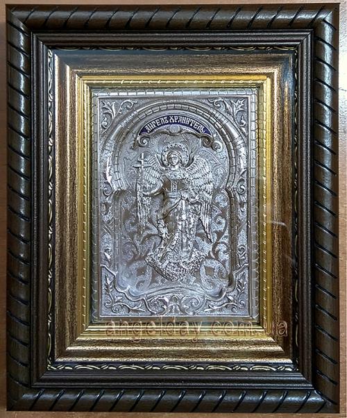 """Икона """"Ангел Хранитель"""" (серебрение, фигура №8)"""