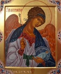 """Икона """"Ангел Хранитель"""" (писаная, на заказ)"""