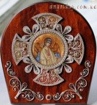 """Икона """"Ангел Хранитель"""" (миниатюра, скань)"""