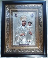 """Икона Богородицы """"Призри на смирение"""" (в позолоченном венце, 24х30)"""