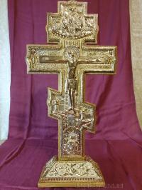 Крест напрестольный (позолота, 49х25)