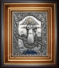 """Ікона іменна """"Матрона Московська"""" (у позолоченому вінці)"""