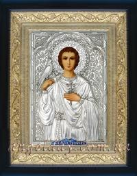 """Ікона іменна """"Трифон мученик"""" (24х30, сріблення)"""