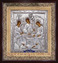 """Ікона """"Свята Трійця"""" (сріблення)"""