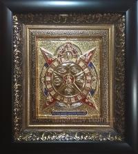 """Икона """"Всевидящее око Божие"""" (позолота)"""