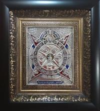 """Икона """"Всевидящее око Божие"""" (серебрение)"""