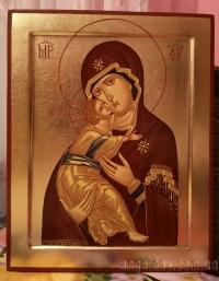 Икона Богородицы (писаная, на заказ)